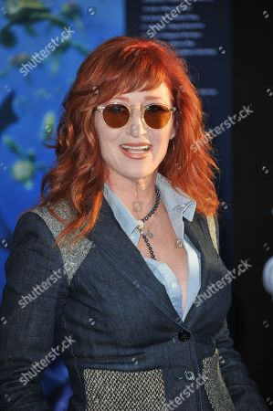 "Vicki Lewis attends the premiere of ""Finding Nemo"" 3D at the El Capitan Theatre, in Los Angeles"