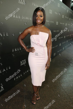"""Stock Picture of Erica Tazel seen at Los Angeles Premiere of STX Entertainment """"Free State of Jones"""" at DGA Theater, in Los Angeles"""