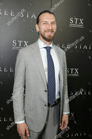 """Stock Image of Bill Tangradi seen at Los Angeles Premiere of STX Entertainment """"Free State of Jones"""" at DGA Theater, in Los Angeles"""