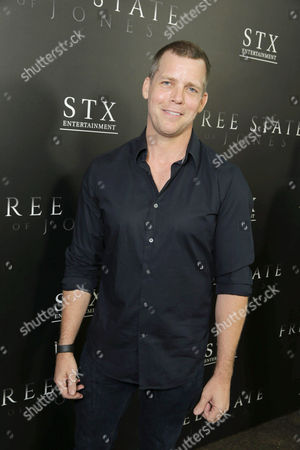 """Tim Griffin seen at Los Angeles Premiere of STX Entertainment """"Free State of Jones"""" at DGA Theater, in Los Angeles"""