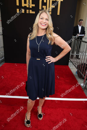 """Dendrie Taylor seen at the Los Angeles Premiere of STX Entertainment """"The Gift"""" held at Regal Cinemas LA Live, in Los Angeles"""