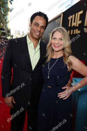 """Adam Lazarre-White and Dendrie Taylor seen at the Los Angeles Premiere of STX Entertainment """"The Gift"""" held at Regal Cinemas LA Live, in Los Angeles"""