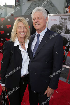 Producer Beau St. Clair and Director Roger Donaldson seen at The World Premiere of 'The November Man'on at the TCL Chinese Theatre in Los Angeles