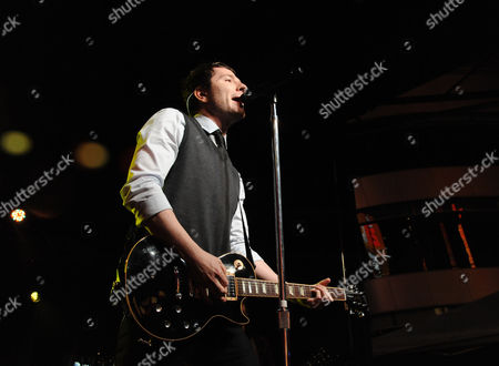 Adam Young, of Owl City performs at Rock The Red Kettle to benefit The Salvation Army, part of AEG's Season Of Giving at L.A. LIVE,, at LA Live in Los Angeles