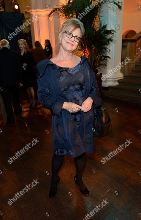 Kay Saatchi is seen at the opening of the Royal Academy of Arts - RA NOW Exhibition at the Royal Academy of Arts on in London, UK