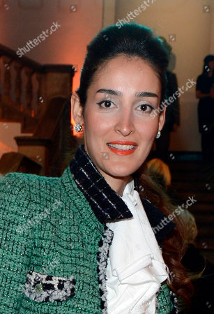"""Yasmin Ghandehari is seen at the opening of the Royal Academy of Arts â?"""" RA NOW Exhibition at the Royal Academy of Arts on in London, UK"""