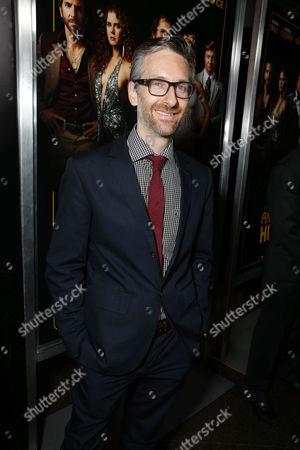 Costumer designer Michael Wilkinson seen at the special screening of Columbia Pictures and Annapurna Pictures of American Hustle, on in Los Angeles