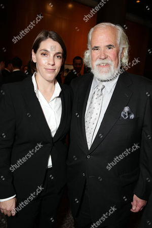Producer Megan Ellison and Jeff Blake, Vice Chairman, Sony Pictures Entertainment, Chairman, Worldwide Marketing and Distribution, Sony Pictures Worldwide Marketing and Distribution, seen at the special screening of Columbia Pictures and Annapurna Pictures of American Hustle, on in Los Angeles