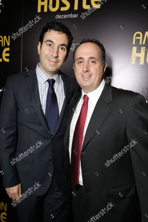 Producers Jonathan Gordon and Richard Suckle seen at the special screening of Columbia Pictures and Annapurna Pictures of American Hustle, on in Los Angeles