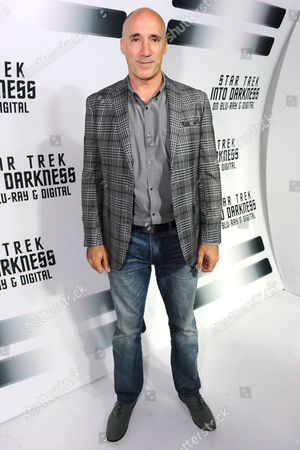 """Neville Page, creature designer from the worldwide blockbuster """"Star Trek Into Darkness"""" gathers to celebrate the film's home entertainment debut on Tuesday, Sept, 10, 2013 at the California Science Center in Los Angeles"""
