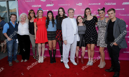 Editorial photo of Summer With Cimorelli Season 1 Premiere Red Carpet, Los Angeles, USA