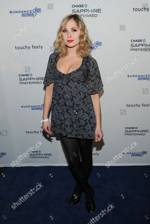 """Z Berg Singer Elizabeth """"Z"""" Berg attends the """"Touchy Feely"""" premiere party at The Shop during the Sundance Film Festival on in Park City, Utah"""