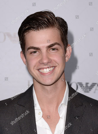 Actor Cameron Palatas arrives at the Teen Vogue Young Hollywood issue party on in Los Angeles