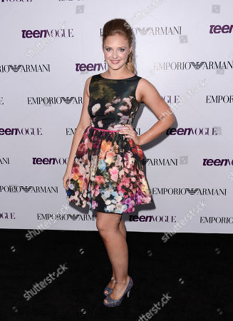Actress Kaitlyn Jenkins arrives at the Teen Vogue Young Hollywood issue party on in Los Angeles