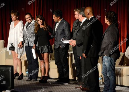 """NOVEMBER 1: Paula Abdul, Kenny Ortega, Barrie Chase, Marguerite Derricks, Napoleon D'Umo, Tabitha D'Umo, Keith Young and Fred Tallaksen attend the Academy of Television Arts & Sciences Presents """"The Choreographers: Yesterday, Today & Tomorrow"""" at the Leonard H. Goldenson Theatre at the Academy of Television Arts & Sciences on in North Hollywood, California"""