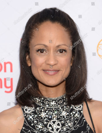 Anne-Marie Johnson seen at the Television Academy's 67th Emmy Awards Dynamic and Diverse Nominee Reception at the Montage Beverly Hills, in Beverly Hills, Calif