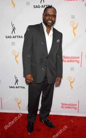 Petri Hawkins-Byrd seen at the Television Academy's 67th Emmy Awards Dynamic and Diverse Nominee Reception at the Montage Beverly Hills, in Beverly Hills, Calif