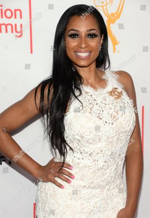 Karlie Redd seen at the Television Academy's 67th Emmy Awards Dynamic and Diverse Nominee Reception at the Montage Beverly Hills, in Beverly Hills, Calif