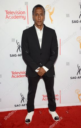 Andre Royo seen at the Television Academy's 67th Emmy Awards Dynamic and Diverse Nominee Reception at the Montage Beverly Hills, in Beverly Hills, Calif