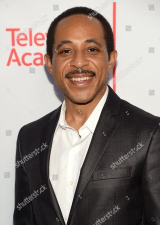 Dale Godboldo seen at the Television Academy's 67th Emmy Awards Dynamic and Diverse Nominee Reception at the Montage Beverly Hills, in Beverly Hills, Calif