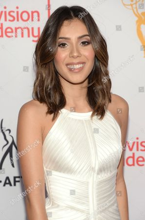 Ashley Campuzano seen at the Television Academy's 67th Emmy Awards Dynamic and Diverse Nominee Reception at the Montage Beverly Hills, in Beverly Hills, Calif