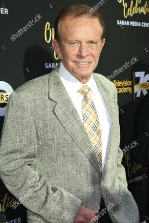 Bob Eubanks arrives at the Television Academy's 70th Anniversary at The Television Academy, in Los Angeles