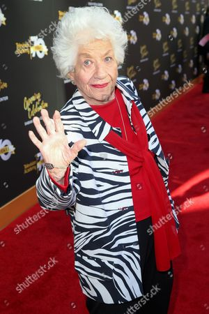 Charlotte Rae arrives at the Television Academy's 70th Anniversary at The Television Academy, in Los Angeles