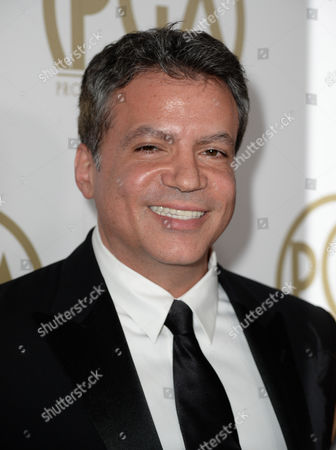 Michael De Luca arrives at the 25th annual Producers Guild of America (PGA) Awards at the Beverly Hilton Hotel, in Beverly Hills, Calif