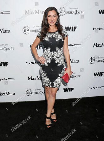 Annika Marks attends the 6th Annual Women in Film Pre-Oscar cocktail party at Fig and Olive on in Los Angeles