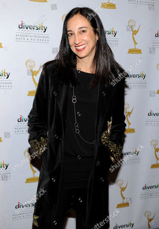 """FEBRUARY 15: Executive producer Lizzy Weiss arrives at The Academy of Television Arts & Sciences Diversity Committee and ABC Family Present """"Switched At Birth"""" Panel Discussion on in North Hollywood, California"""