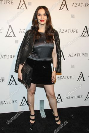 Actress Alixandra von Renner arrives at The Black Diamond Affair at the Sunset Tower Hotel on in West Hollywood, Calif