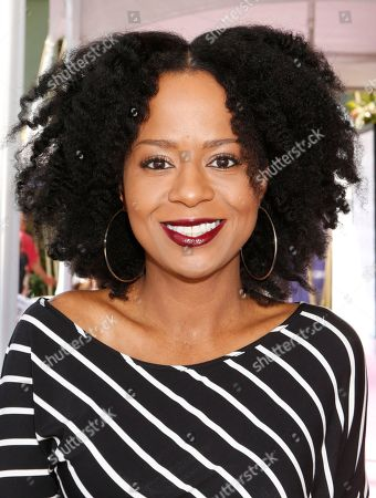 Tempestt Bledsoe is seen on Day 2 of the Breeders' Cup World Championships, in Arcadia, Calif