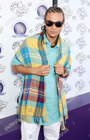 Bizzy Bone is seen on Day 2 of the Breeders' Cup World Championships, in Arcadia, Calif