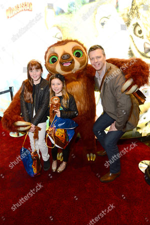 Steve Backley is seen at the premiere of The Croods at the Empire Leicster Square in London on Sunday 10, 2013