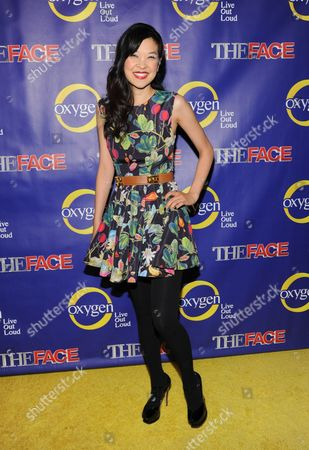 """DailyCandy chief correspondent SuChin Pak attends Oxygen Network's """"The Face"""" premiere party at Marquee on in New York"""