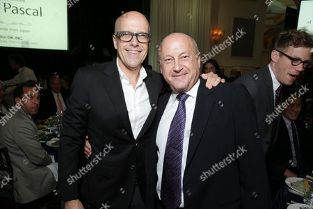 Producers Donald DeLine and Lawrence Mark at The L.A. Gay & Lesbian Center for 'An Evening Honoring Amy Pascal and Ralph Rucci', on Thursday, March, 21, 2013 in Beverly Hills