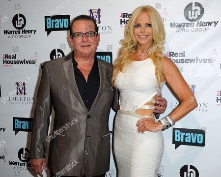 Herman and Alexia Echeverria attend Bravo Televisions' The Real Housewives of Miami' Season 3 premiere party on in Miami, Florida