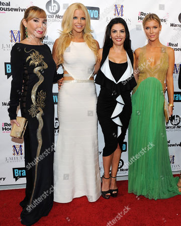Maryisol Patton, Alexia Echeverria, Adriana De Mouraand Joanna Kruppa attend Bravo Televisions' The Real Housewives of Miami' Season 3 premiere party on in Miami, Florida