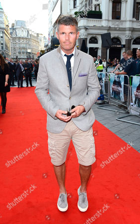 Nick Love poses at The Sweeney UK Premiere at Vue West End on in London