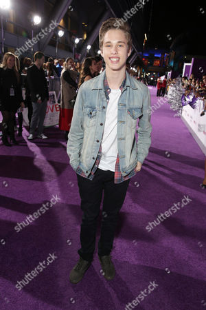 "Ryan Beatty seen at the World Premiere of Open Road's ""Justin Bieber's Believe"" presented by Teen Vogue and sponsored by Clearasil, on in Los Angeles"