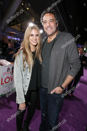 """Hope Garrett and Brad Garrett seen at the World Premiere of Open Road's """"Justin Bieber's Believe"""" presented by Teen Vogue and sponsored by Clearasil, on in Los Angeles"""