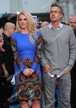 """Stock Picture of Jason Trawick and Britney Spears attend """"The X Factor"""" season two premiere at Grauman's Chinese Theatre, in Los Angeles"""