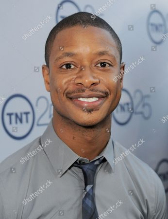 Arjay Smith arrives at the TNT 25th Anniversary Party on at The Beverly Hilton in Beverly Hills, Calif
