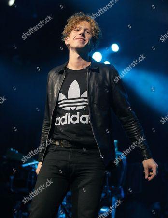Singer-songwriter Erik Hassle performs in concert at The Fillmore, in Philadelphia