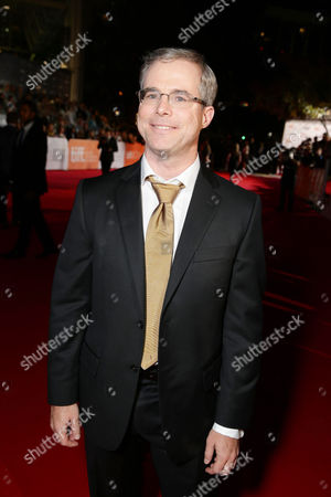 Author Andy Weir seen at Twentieth Century Fox 'The Martian' Premiere Gala at the 2015 Toronto International Film Festival on in Toronto, CAN