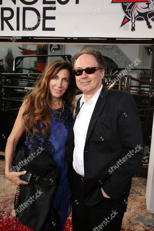 """Donna Isham and Composer Mark Isham seen at the Twentieth Century Fox Premiere of """"The Longest Ride"""" held at TCL Chinese Theatre, in Hollywood"""
