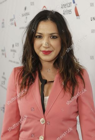 Michelle Branch arrives at Universal Music Group Grammy Party Presented by American Airlines and Citi at The Theatre at Ace Hotel, in Los Angeles, CA