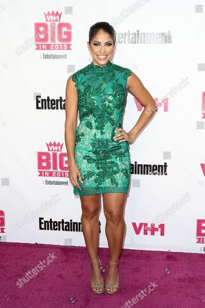 Valery Ortiz attends the VH1 Big In 2015 with Entertainment Weekly Award Show held at the Pacific Design Center, in West Hollywood, Calif