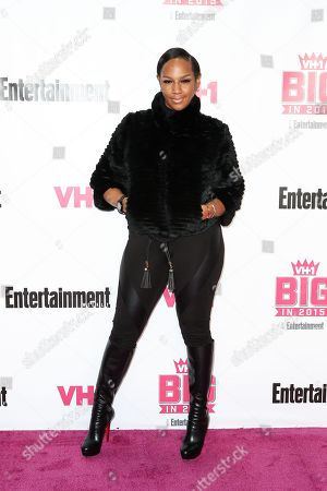 Jackie Christie attends the VH1 Big In 2015 with Entertainment Weekly Award Show held at the Pacific Design Center, in West Hollywood, Calif