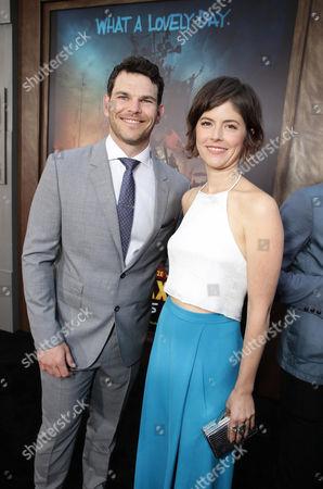 "Josh Helman and Jennifer Allcott seen at the Warner Bros. premiere of ""Mad Max: Fury Road"", in Los Angeles"